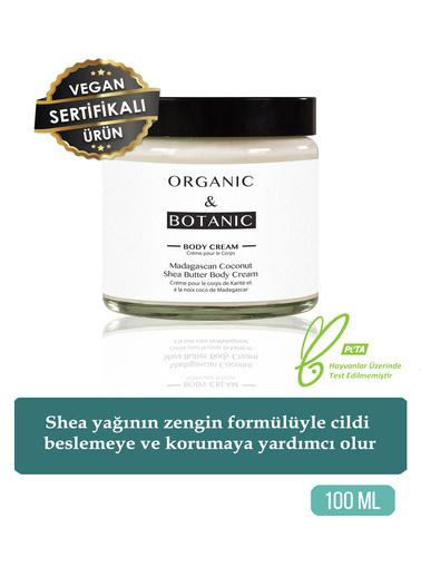 Organic ORGANIC BOTANIC B.BUTTER SHEA B.MADA.HİND.C.100ml Renksiz